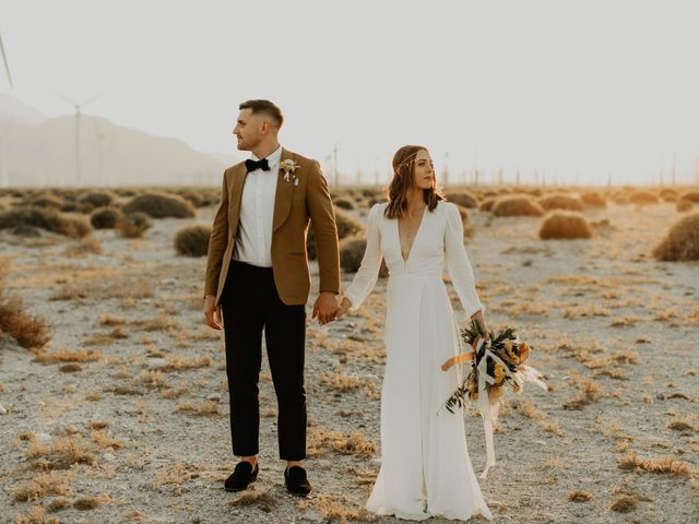 Pat and Shera's Wedding in Palm Springs, California 40