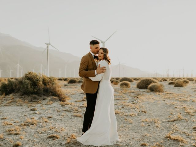 Pat and Shera's Wedding in Palm Springs, California 46