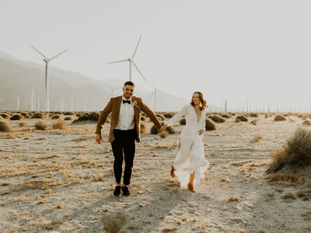 Pat and Shera's Wedding in Palm Springs, California 55