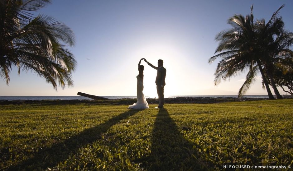Nicole and E.J.'s Wedding in Lahaina, Hawaii