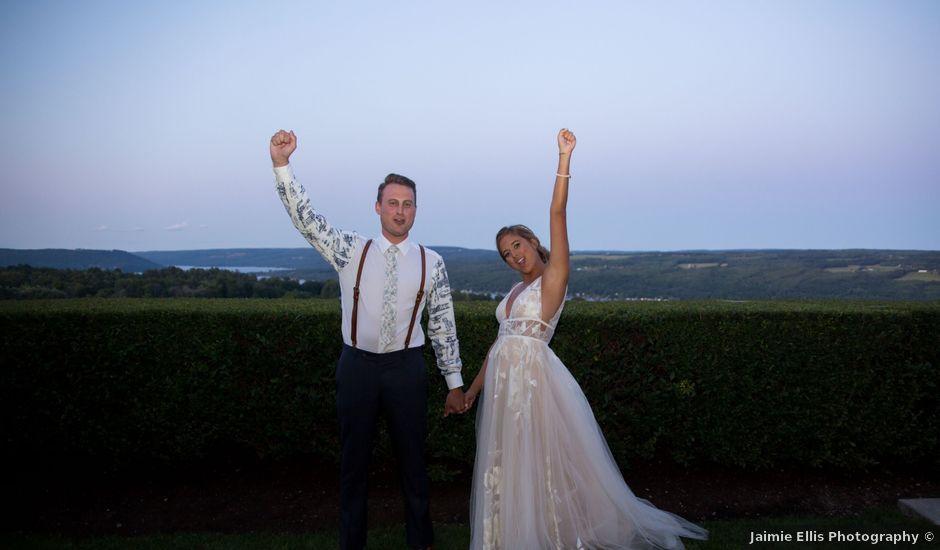 Joe and Kelsey's Wedding in Hammondsport, New York