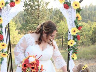The wedding of Halley and Kaleb 1