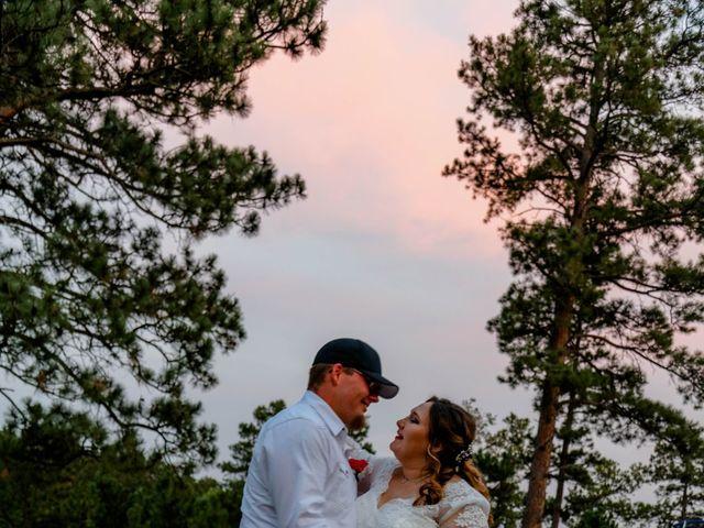 Kaleb Eatherton and Halley Colgan's Wedding in Keystone, South Dakota 6