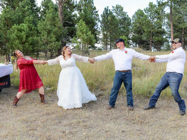 Kaleb Eatherton and Halley Colgan's Wedding in Keystone, South Dakota 7