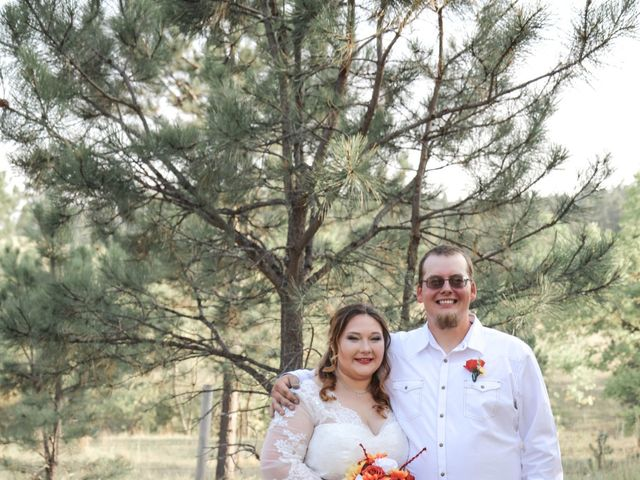 Kaleb Eatherton and Halley Colgan's Wedding in Keystone, South Dakota 11