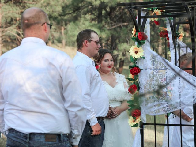 Kaleb Eatherton and Halley Colgan's Wedding in Keystone, South Dakota 13
