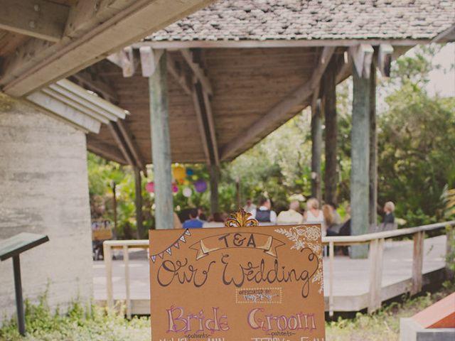 Angela and TJ's Wedding in New Smyrna Beach, Florida 8