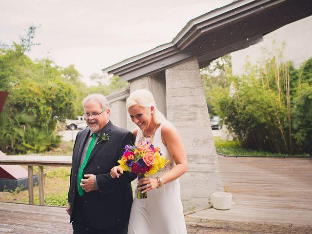 Angela and TJ's Wedding in New Smyrna Beach, Florida 10