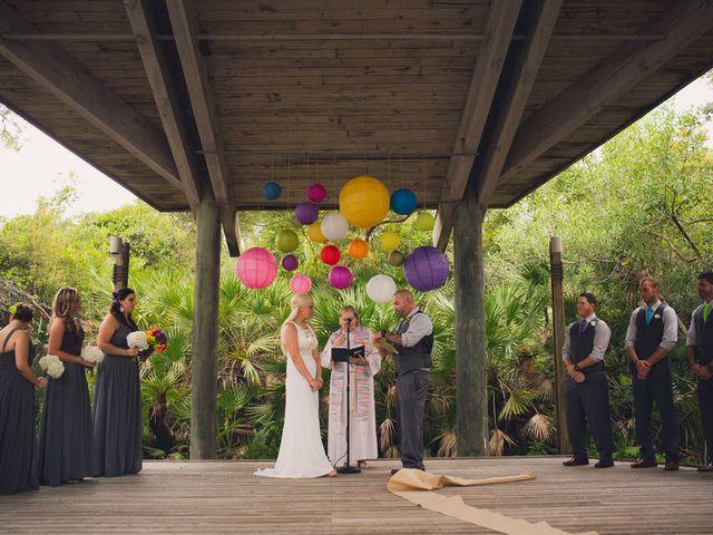 Angela and TJ's Wedding in New Smyrna Beach, Florida 12