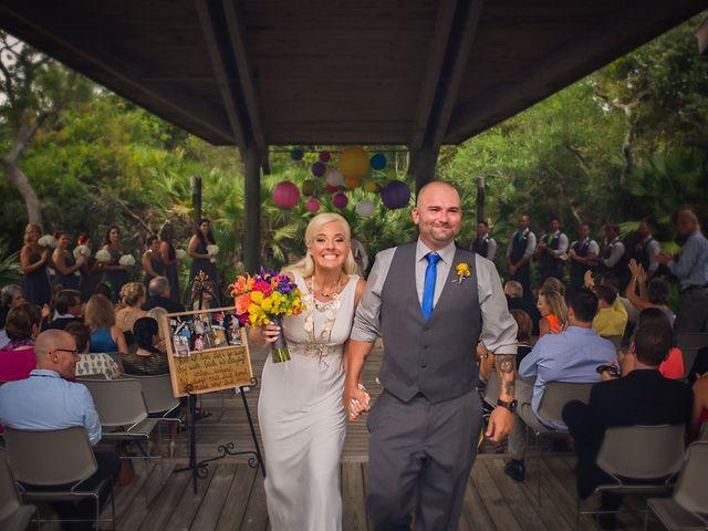 Angela and TJ's Wedding in New Smyrna Beach, Florida 13