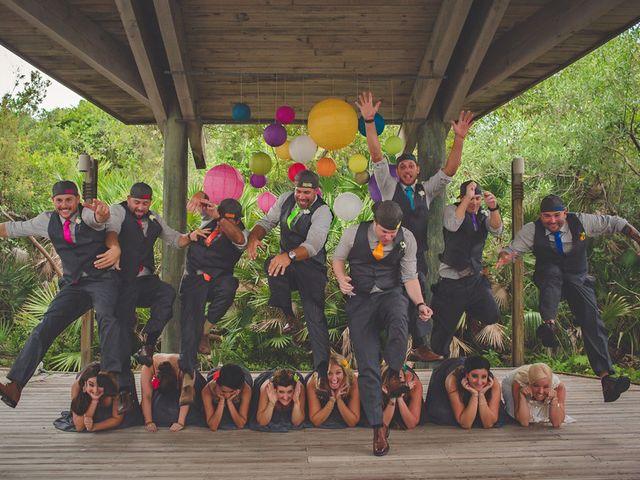 Angela and TJ's Wedding in New Smyrna Beach, Florida 16