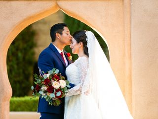 The wedding of Jasmine and Victor