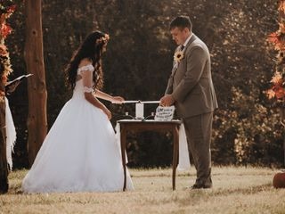 The wedding of Holly and Davey