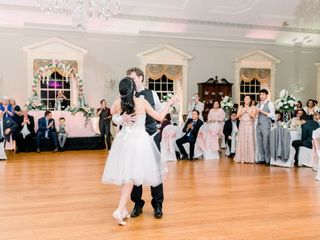 The wedding of John and Vanessa 1