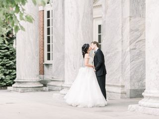 The wedding of John and Vanessa