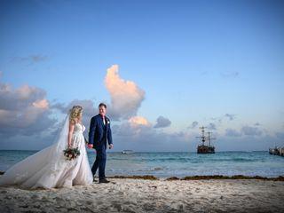 The wedding of Kayla and Mark