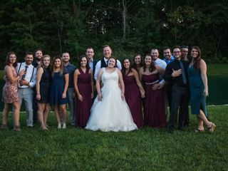 The wedding of Catherine and Dominic 2