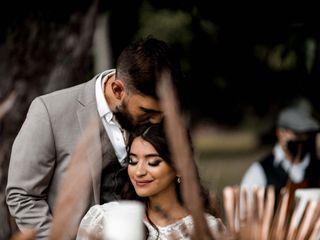 The wedding of Ledi and Manu 2