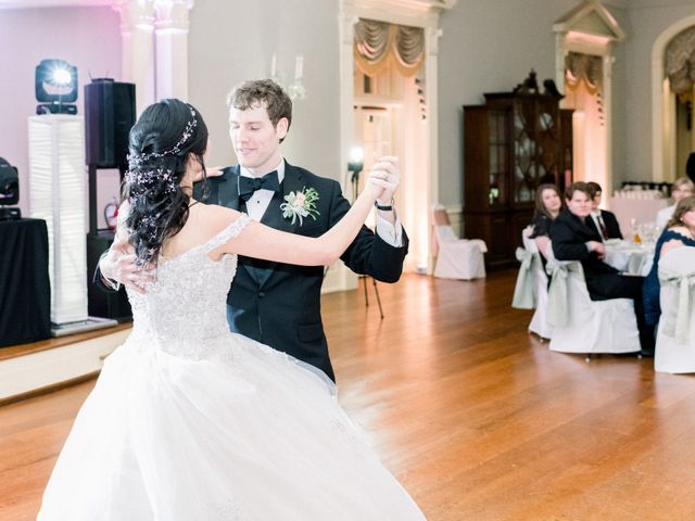 Vanessa and John's Wedding in Detroit, Michigan 9