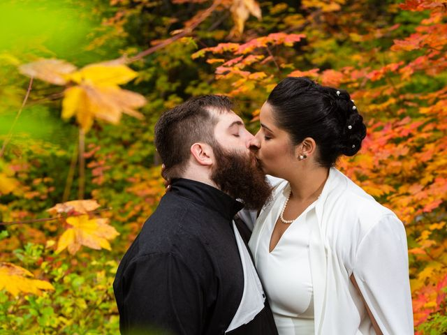 The wedding of Alysha and Mike