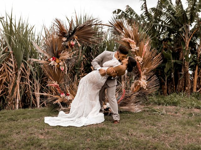 The wedding of Ledi and Manu