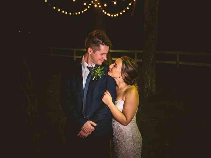 The wedding of Andrea and Garrett