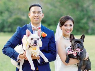The wedding of Hong and Thierry