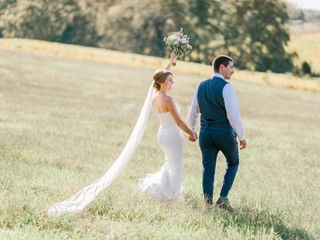 The wedding of Hunter and Sarah