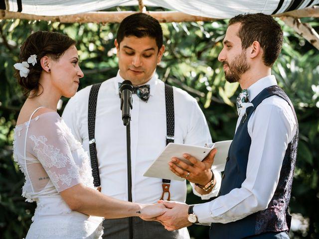 The wedding of Maia and Simon