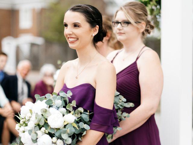 David and Colleen's Wedding in Leesburg, Virginia 12