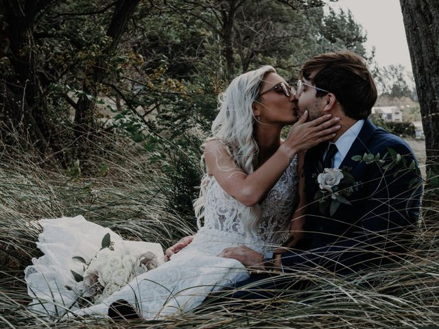 The wedding of Alexis and David