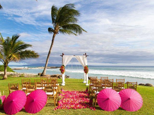 Caitlin and Nicholas's Wedding in Lahaina, Hawaii 9
