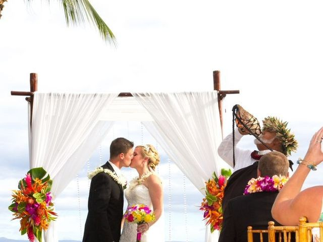 Caitlin and Nicholas's Wedding in Lahaina, Hawaii 13