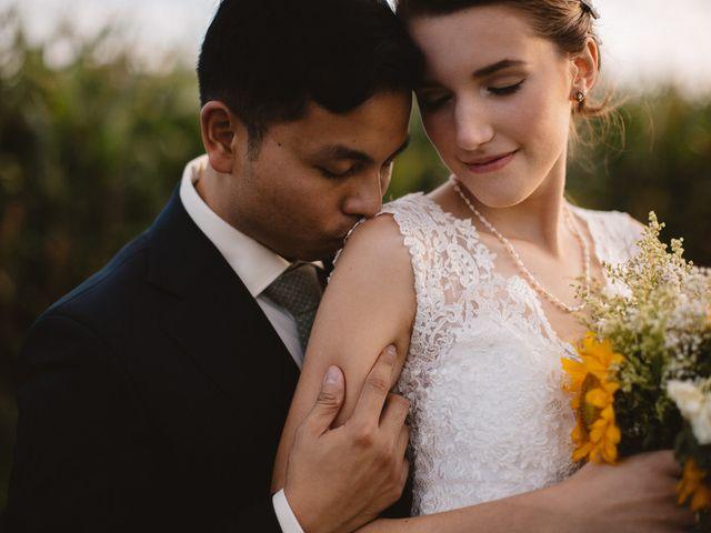 The wedding of PJ and Lauren