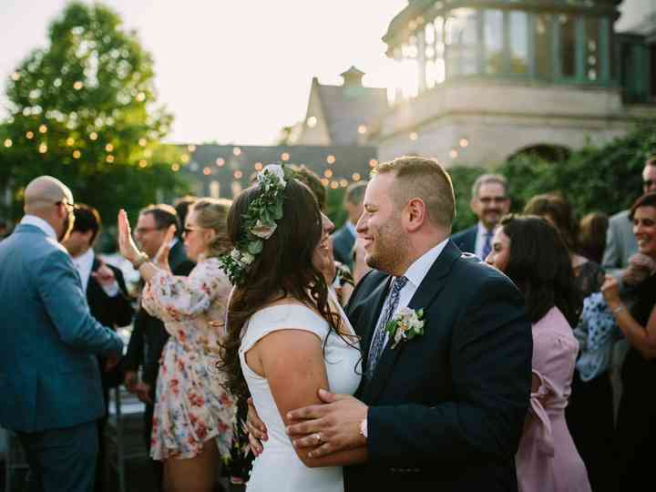 The wedding of Christine and Alex