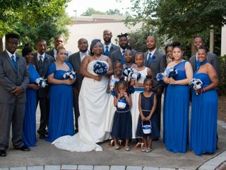 The wedding of Latoya and Bryan 1
