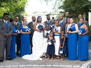 The wedding of Latoya and Bryan 2