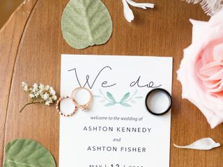 The wedding of Ashton and Ashton 1