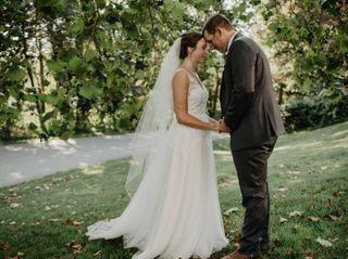 The wedding of Lauren and Nick