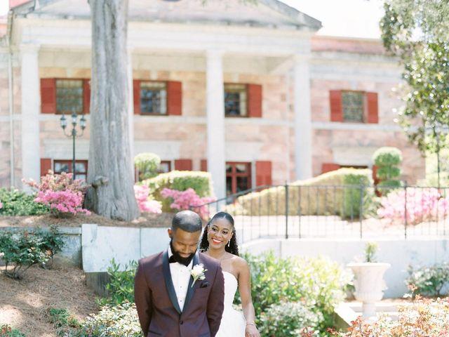 Allan and Niara's Wedding in Tate, Georgia 12