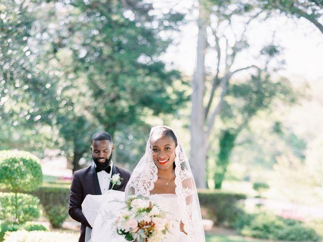 Allan and Niara's Wedding in Tate, Georgia 15
