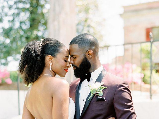 Allan and Niara's Wedding in Tate, Georgia 21