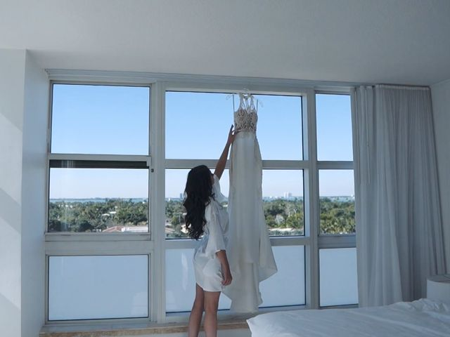 Roman and Emma's Wedding in Miami Beach, Florida 3