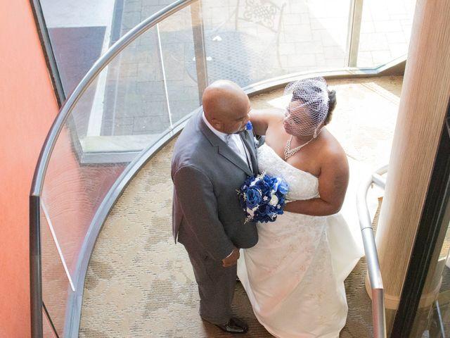 The wedding of Latoya and Bryan