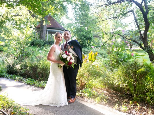 The wedding of Ashley and Bill