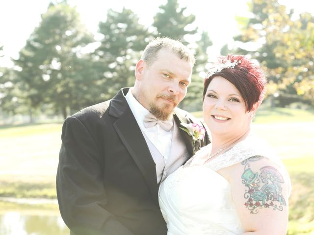 The wedding of Paul and Kristine