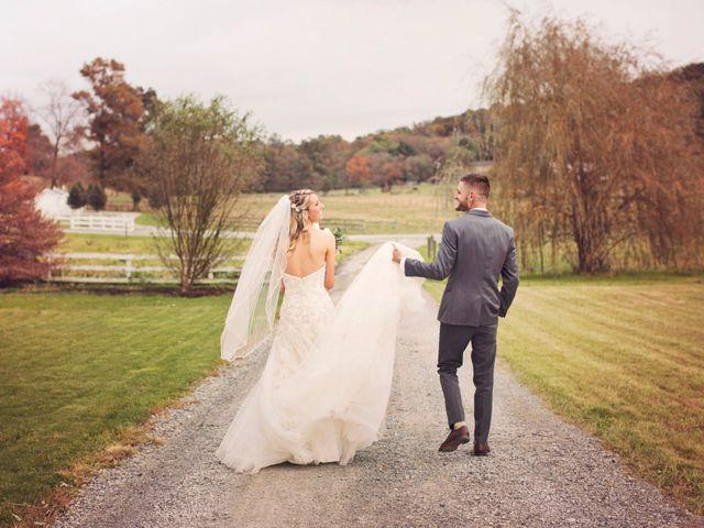 The wedding of Ally and Matt