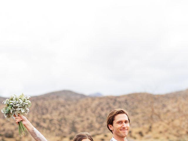 Trent and Julie's Wedding in Pioneertown, California 3