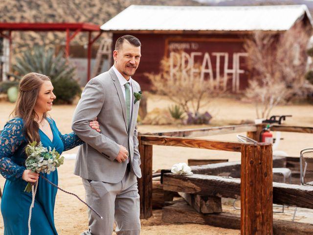 Trent and Julie's Wedding in Pioneertown, California 4