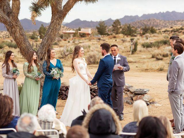 Trent and Julie's Wedding in Pioneertown, California 5